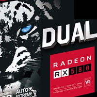 Asus Dual RX 580 O8G: Duálka za dobrou cenu