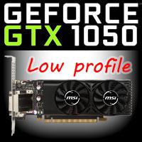 MSI GTX 1050 2GT Low Profile: nízký profil do vašeho HTPC