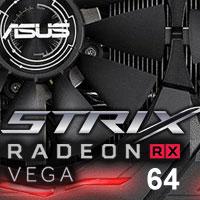Asus Strix RX Vega 64 O8G Gaming: nereferenční Vega 64