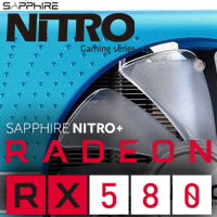 Sapphire Nitro+ RX 580 8GD5 Special Edition: Metal Blue