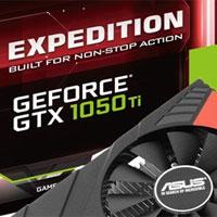 Asus Expedition GTX 1050 Ti O4G: spolehlivý a odolný
