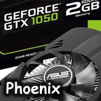 Asus Phoenix GTX 1050 2G: když výkon není vše