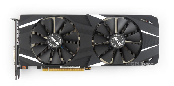 Asus Dual RTX 2060 O6G front