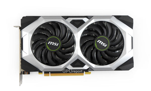 MSI RTX 2070 Ventus 8G front