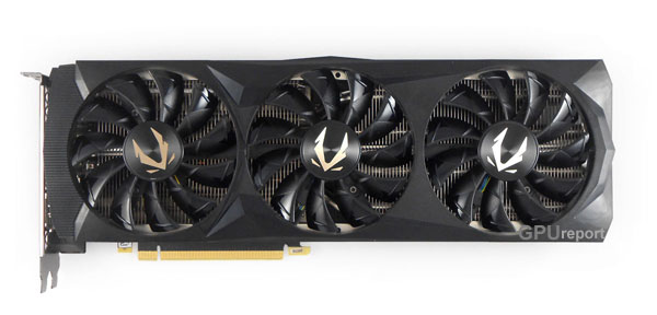 Zotac Gaming RTX 2080 Ti Triple Fan front