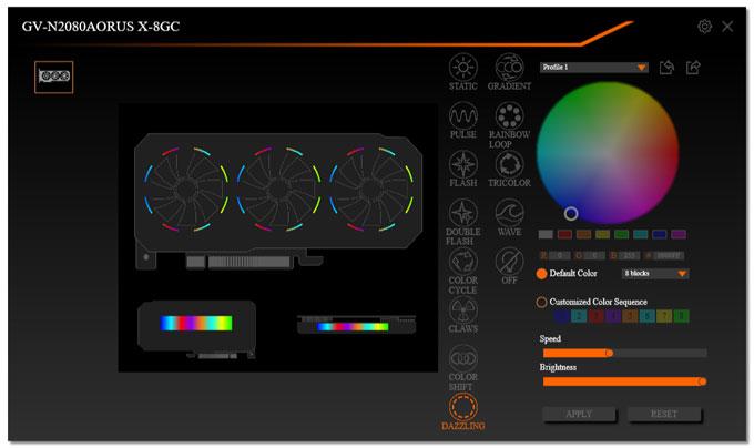 Gigabyte Aorus RTX 2080 XTREME 8G | Aorus Graphics Engine